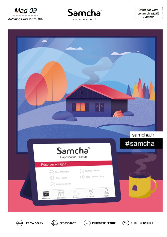 Magazine Samcha où vous trouverez toutes nos prestations et nos tarifs